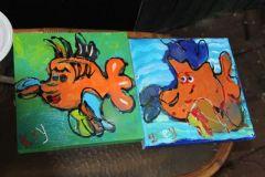 Vissen en creatief